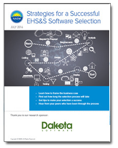 NAEM Report: Strategies for Successful EHS&S Software Selection