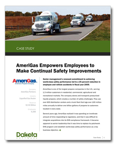 AmeriGas Empowers Employees to Make Safety Improvements