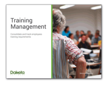 Training Management