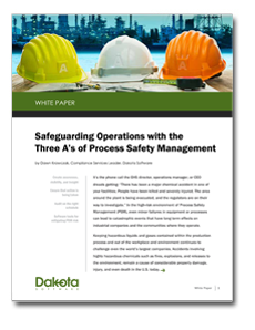Safeguarding Operations with the  Three A's of Process Safety Management