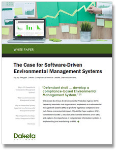 The Case for Software-Driven Environmental Management Systems